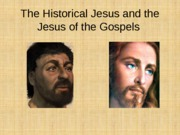 Jesus+of+History+and+Jesus+of+the+Gospels