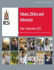 N403A.67 Values, Ethics  Advocacy.pptx