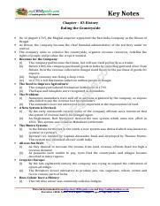 08_social_science_history_key_notes_ch_03_ruling_the_countryside
