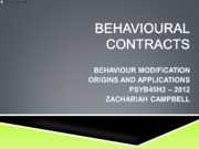 PSYB45H3 - 2012 - Chapter 23 to 25 (Blackboard)