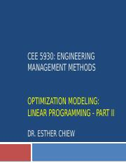 CEE 5930 -- Linear Programming Part 2 - Fall 2017 (1).pptx