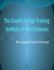 The Graphic Design Training Institute of West Paterson