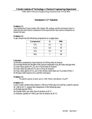 CHE2101_HW2_Solution_FS2014