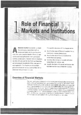 Capital Markets Financial Markets