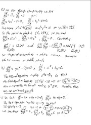Math 16B Review Solutions