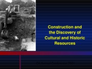 E-Digging Up Cultural Resources