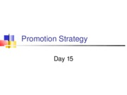 Day 15 - Promotion