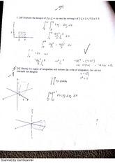 Exam 3 Part 1 NO calculator