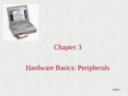 Lecture 6 Chapter+3 p.2, CMPE 3 Personal Computers