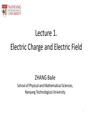Lecture 1--Electric Charge and Electric Field_clickers