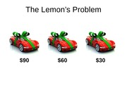 The Lemon's Problem(1)[1]