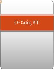 14 - CPP Casting  Run-Time Type Information.pdf