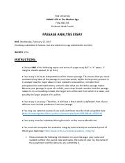 HUMA 1170 Passage Analysis Essay 2016.pdf