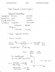 control system handwritten notes pdf