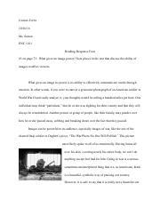 reading response essay three reading response essay three 2 pages reading response 4 pdf