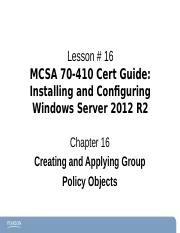 Chapter16Windows2012-70-410 ce