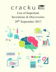 Important Inventions and Discoveries PDF.pdf