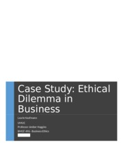 business ethics case study questions