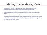 Missing Lines & Missing Views(1)