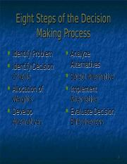 Chapter 4 - Decision Making and Creativity.ppt