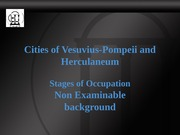 Cities of Vesuvius Background
