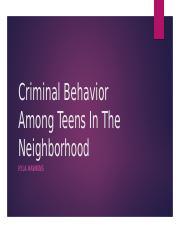 Crime with Teens .pptx