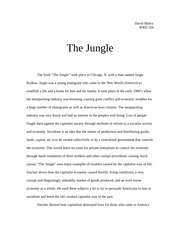 an analysis of the characters in the novel the jungle by upton sinclair jr The jungle is a popular book by upton sinclair read the jungle, free online version of the book by upton sinclair, on readcentralcom upton sinclair's the jungle consists of 31 parts for ease of reading.