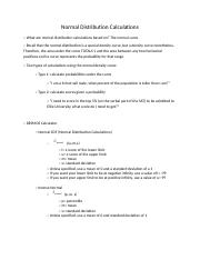 Normal Distribution Calculations Notes.docx