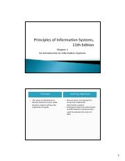 CH01-An Introduction to Information Systems