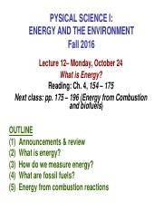 E_E Fall 2016 Lecture 12  What is Energy_student version