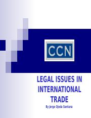 2014 Legal Issues in International Trade - MTY.pptx
