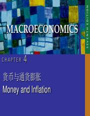 CHAP04 money and inflation