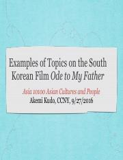 Examples of Topics on Ode to My Father.pdf