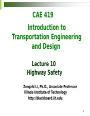 Lecture10-Highway safety.docx
