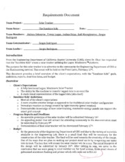 Requirement Document Example 2