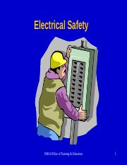 electrical safety - 2008.ppt