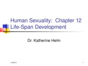Human Sexuality Chapter 12