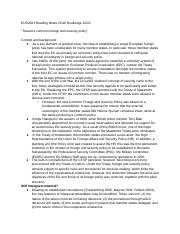 EUS2003 Reading Notes Ch49 Routledge 10/22.docx