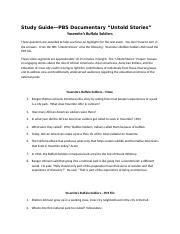 Study Guide Yosemite Buffalo Soldiers-1