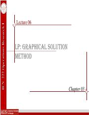INE 222-F16-Lec06-LP Graphical Solution