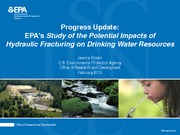 Progress_Update_Impact_Hydraulic_Fracturing_On_Drinking_Water