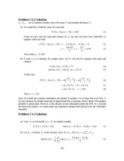 Problem Solutions,2nd Edition (STAT) 282