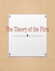 Theory of the firm 2018-1-1.pptx