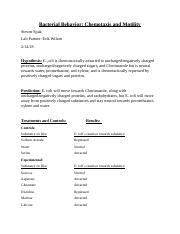 Bacterial Behavior.docx