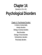 Intro Ch 14 Disorders PPT 2017.ppt