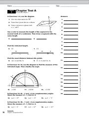 Holt McDougal Geometry Answer Key Right Triangles and ...