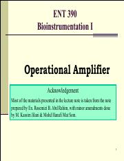 Operational Amplifier Basics [201703]_slides