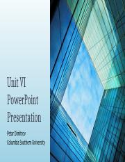 Unit VI PowerPoint Presentation.pptx