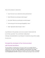 There are five principles of communication.docx