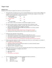 Chapter 6 Financial Quiz - Key.docx